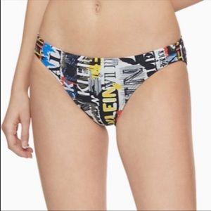 Calvin Klein Graffitiprint bikini bottoms S,M,L,XL